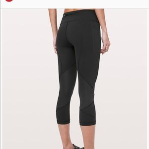 Lululemon Pace Rival Crop *flaw